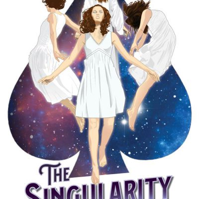 The Singularity Wheel Novel - Cover Illustration & Design