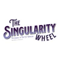 The Singularity Wheel Novel Cover Mast - Illustration & Design