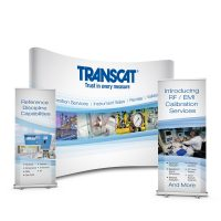 Transcat Trade Show Banners