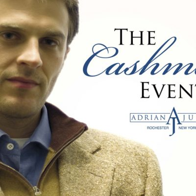 Adrian Jules Cashmere Event