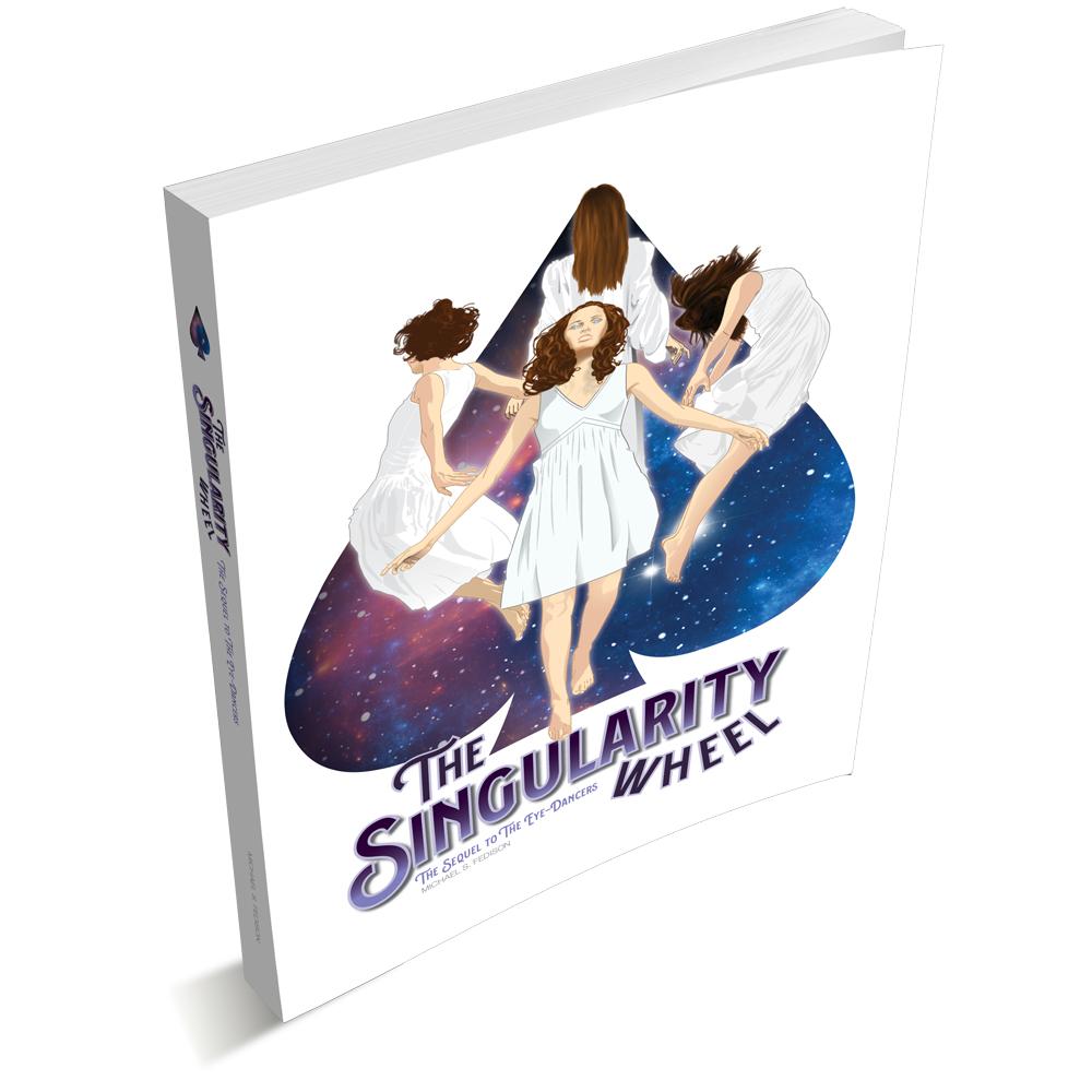 The Singularity Wheel: Novel Cover illustration & Design