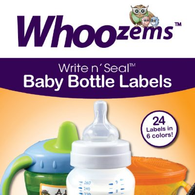 Whoozems Child Care Labels